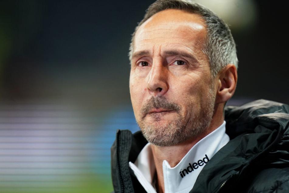 Ist beinahe mit weißer Weste ins neue Jahr gestartet: Eintracht-Trainer Adi Hütter.