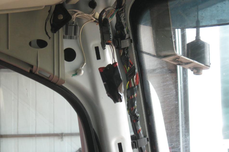 Mit der neuen Technik wird der Eindruck erweckt, dass der Brummi stehe und nicht fahre.