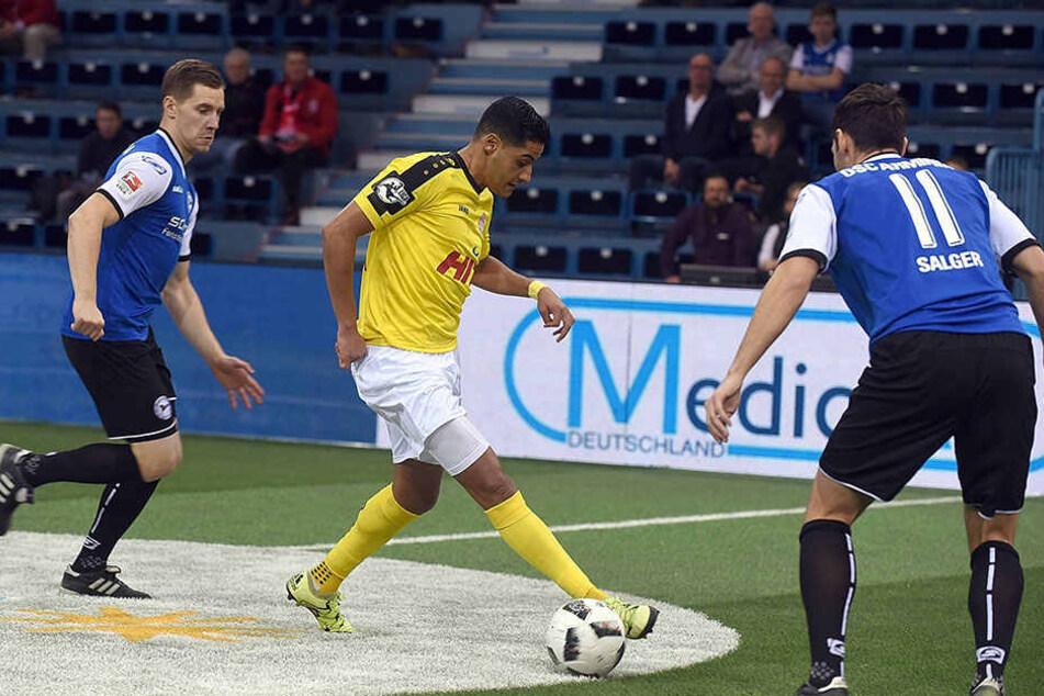 Arminia spielte im ersten Spiel gegen Fortuna Köln.