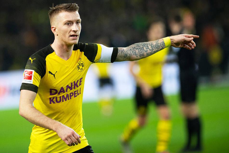 BVB-Kapitän Marco Reus fehlt Borussia Dortmund auch in London.