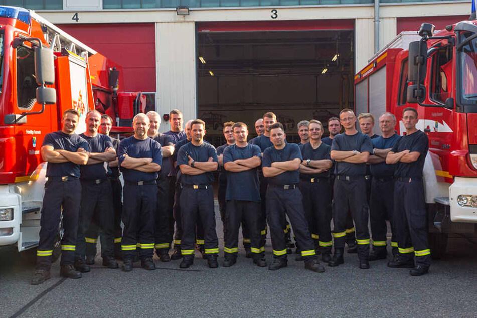 Belegen bald einen Selbstverteidigungskurs: die Kameraden der Freiwilligen Feuerwehr Weißwasser.