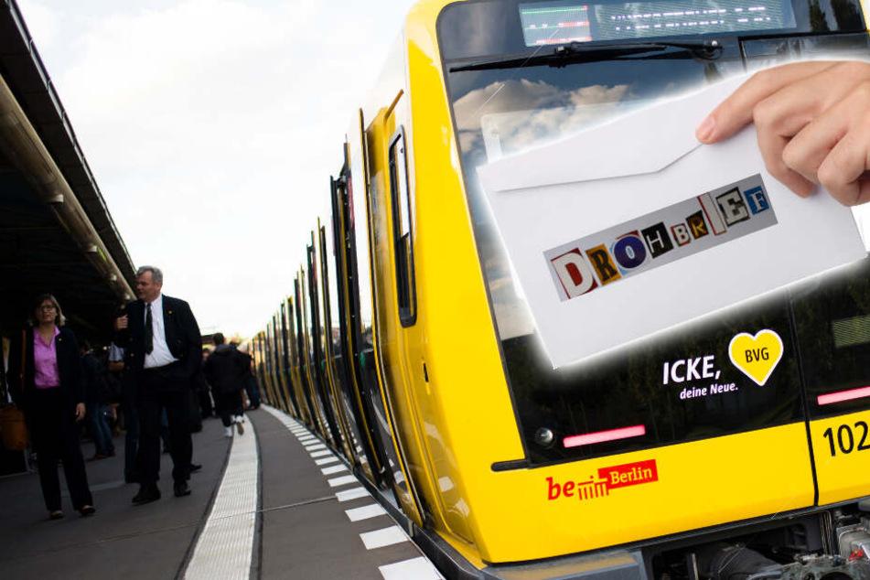 Ein Drohbrief eines 18-Jährigen an die Berliner Verkehrsbetriebe (BVG) hat einen SEK-Einsatz ausgelöst. (Bildmontage/Symbolbilder)