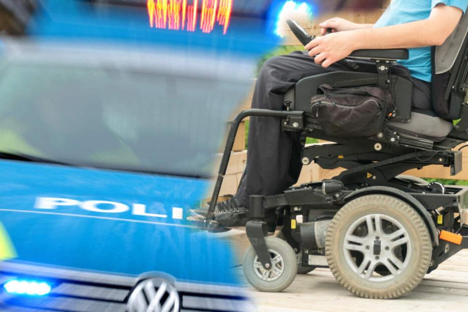 Sie war schon auf dem Beschleunigungs-Streifen: Rentnerin will mit Rollstuhl auf die Autobahn
