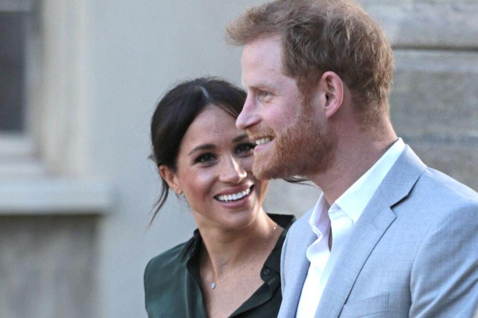 Herzogin Meghan (37) und Prinz Harry (34).
