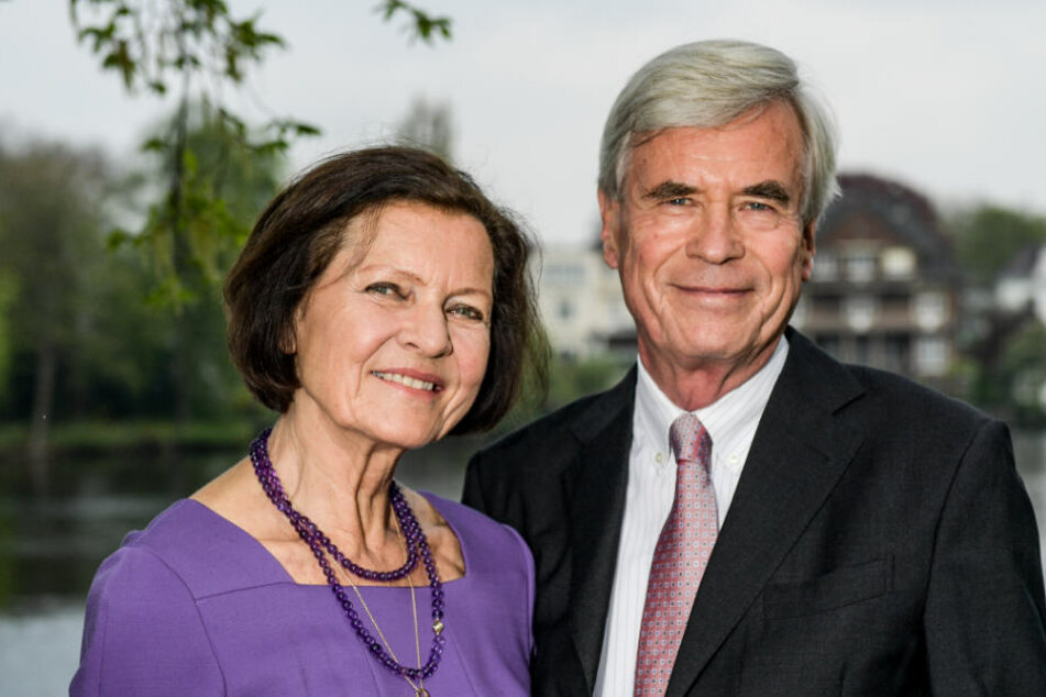 Michael Otto und seine Ehefrau Christl befanden sich zum Zeitpunkt des Einbruchs im Urlaub.