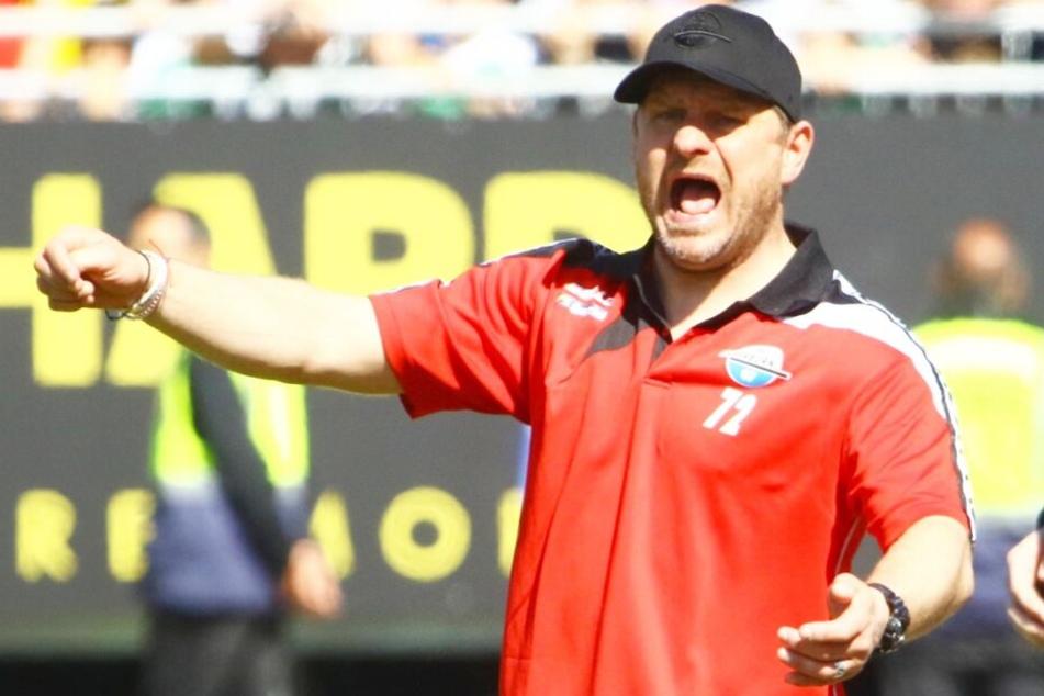 SCP-Coach Steffen Baumgart traut seiner Mannschaft einen Sieg zu.