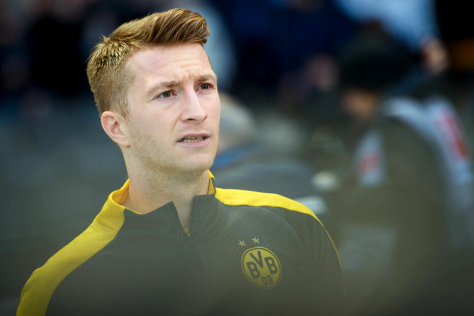 Marco Reus kann seiner Mannschaft in Hoffenheim nicht helfen und muss zuschauen.