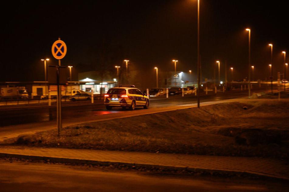 Die Polizei war in Leppersdorf präsent.