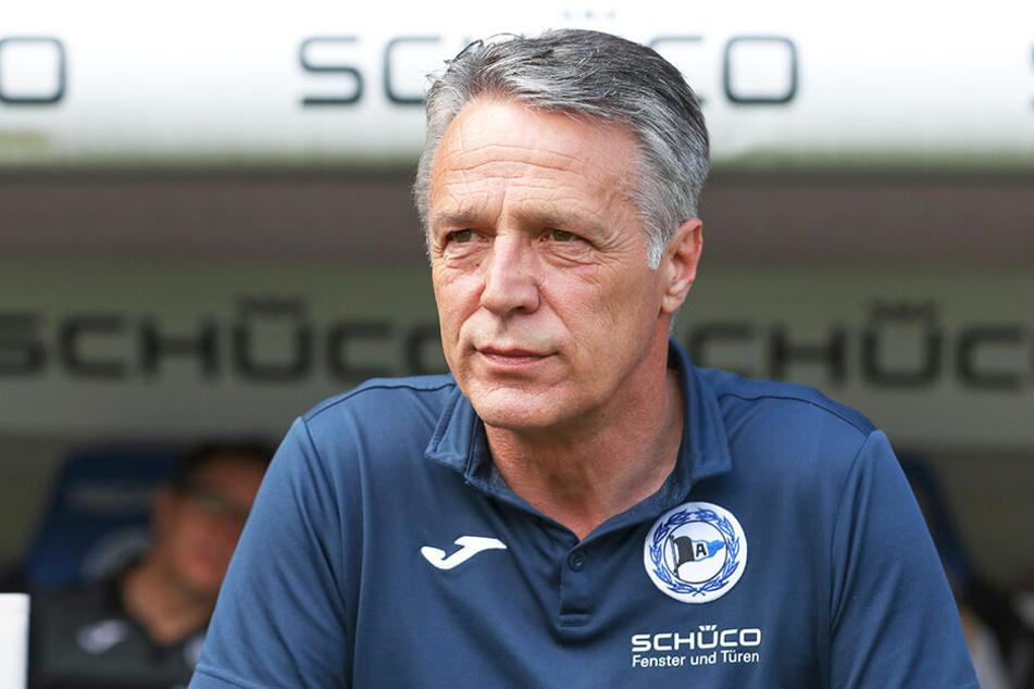 DSC-Coach Uwe Neuhaus darf sich auf einen erfahrenen Innenverteidiger freuen.