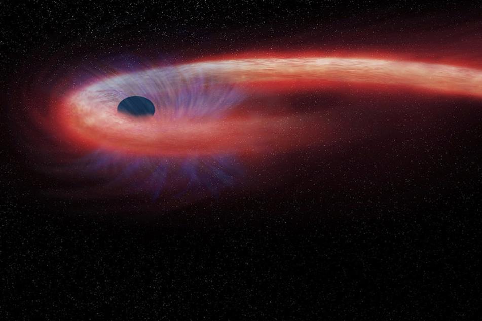 Forscher wollen ein Bild von einem Schwarzen Loch machen. (Symbolbild)