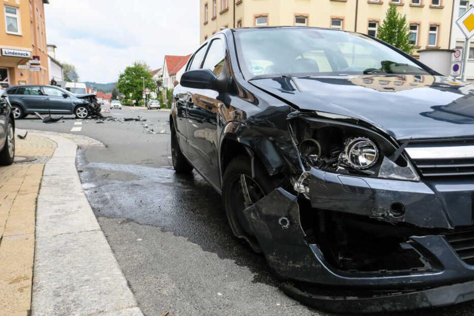 Der Unfall passierte auf der Kreuzung Lindenstraßen/Paul-Stößner-Straße.
