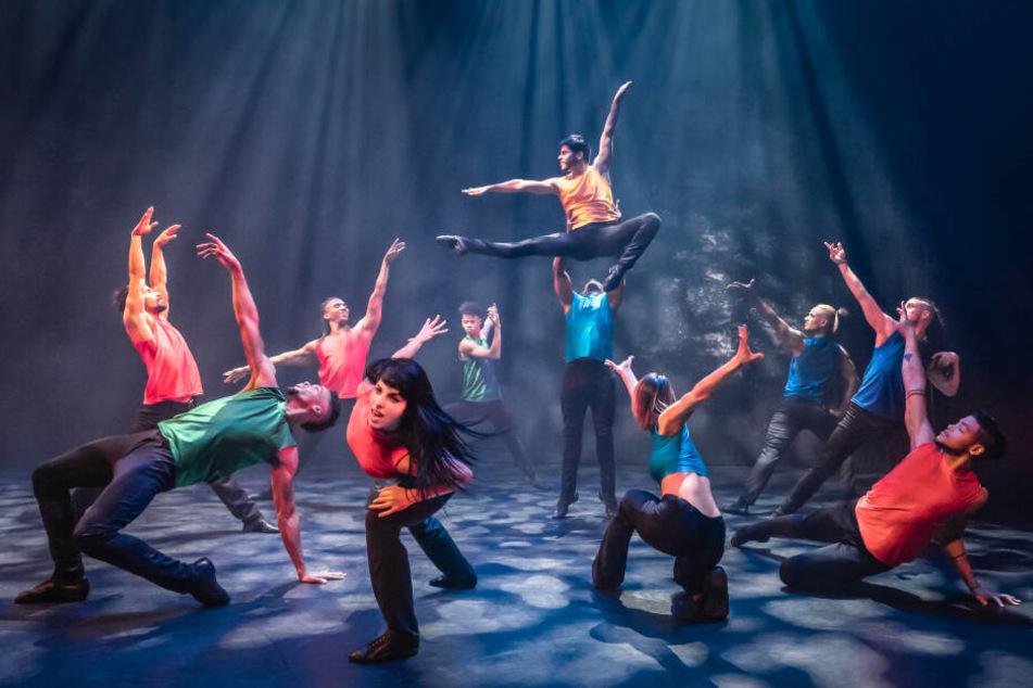 Contemporary Dance in perfekter Ausführung