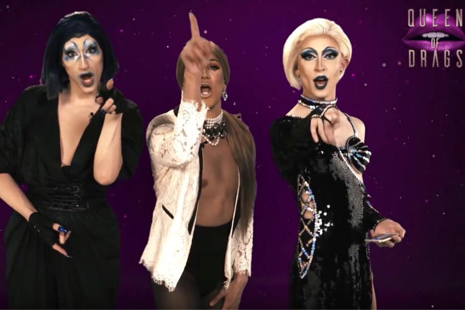 """Hasskommentare bei """"Queen of Drags"""": Teilnehmerinnen kontern mit Video"""