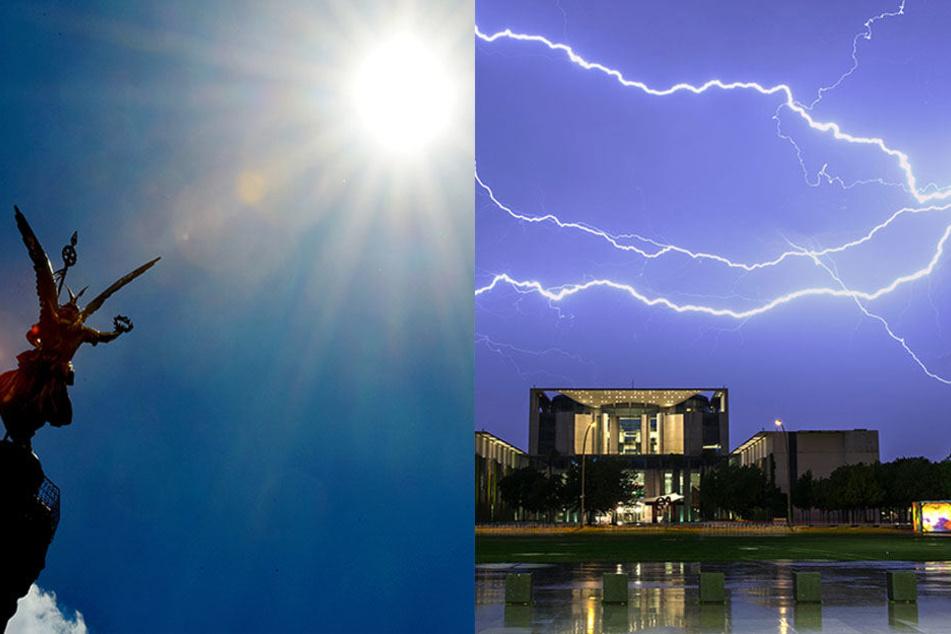 Nach Hitzewelle: Kommt jetzt das Unwetter in Berlin und Brandenburg?