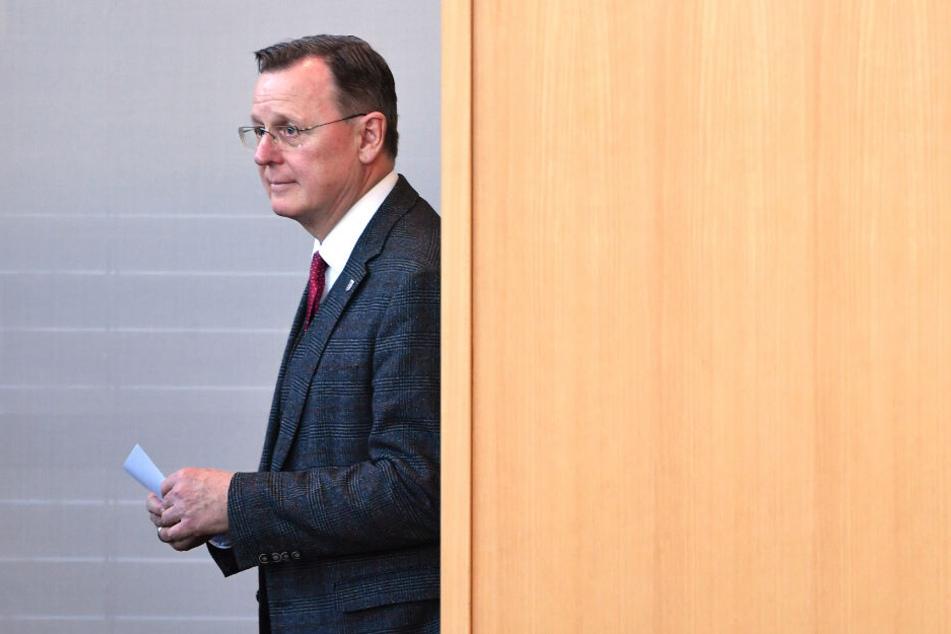 Bodo Ramelow kritisiert die Wahl von Kemmerich mit scharfen Worten.