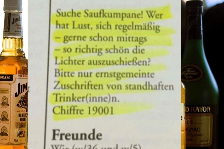 Der Zeitungsausschnitt wurde auf der Seite unfugbilder.de veröffentlicht und wurde dort zum viralen Hit.