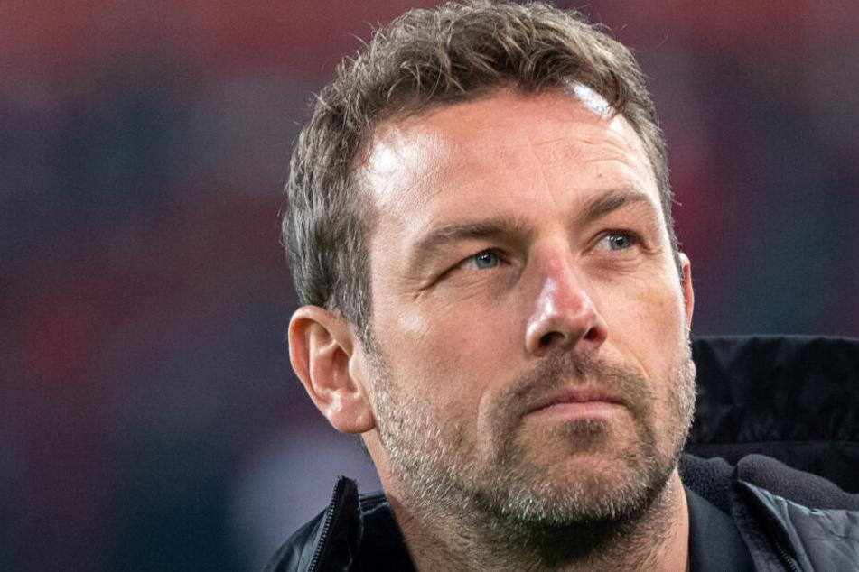 Mit dem VfB im Abstiegskampf: Coach Markus Weinzierl.