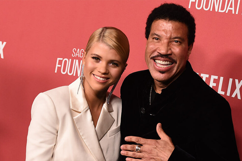 Sofia Richie (20) mit ihrem berühmten Vater Lionel Richie (69).