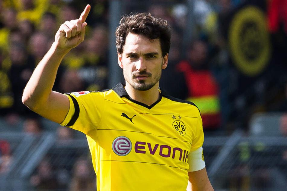 Mats Hummels absolvierte für Borussia Dortmund von 2008 bis 2016 bereits 309 Spiele.