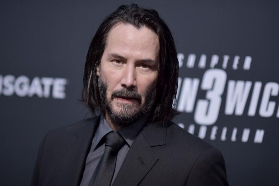 """Im neuen Kinofilm """"John Wick: Kapitel 3"""" spielt der Kanadier (54) erneut einen Auftragskiller."""