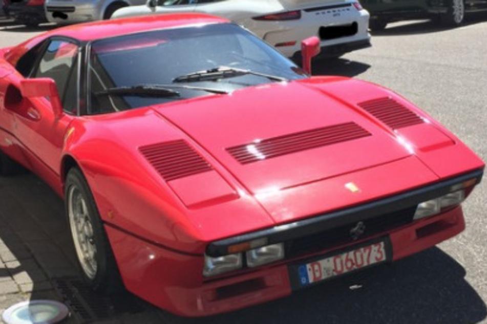 Er hatte bei einer Probefahrt diesen wertvollen Ferrari 288 GTO geklaut.