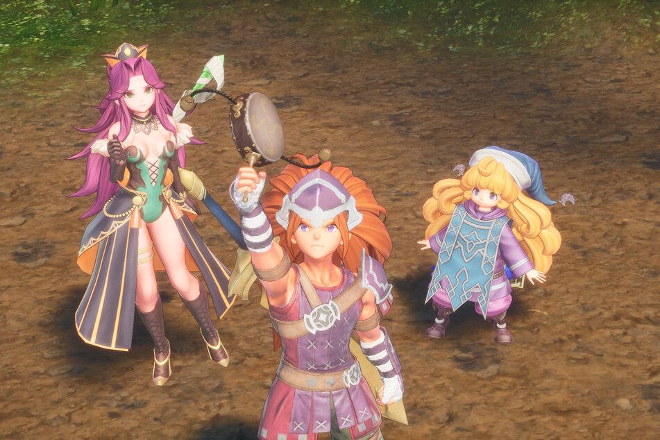 Zu Beginn des Spiels wählt Ihr aus sechs Charakteren aus. Der Wiederspielwert ist hoch, könnt ihr doch beim zweiten Durchgang eine komplett neue Partie auswählen.