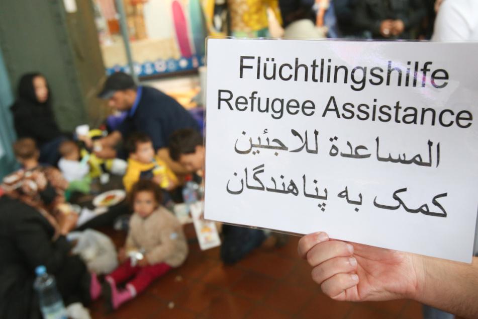 Viele Ehrenamtliche noch aktiv in Flüchtlingsarbeit