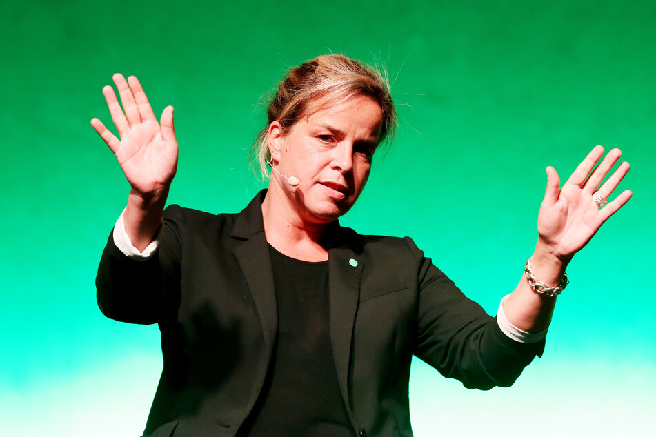 Mona Neubaur, Landesvorsitzende der Grünen in NRW.