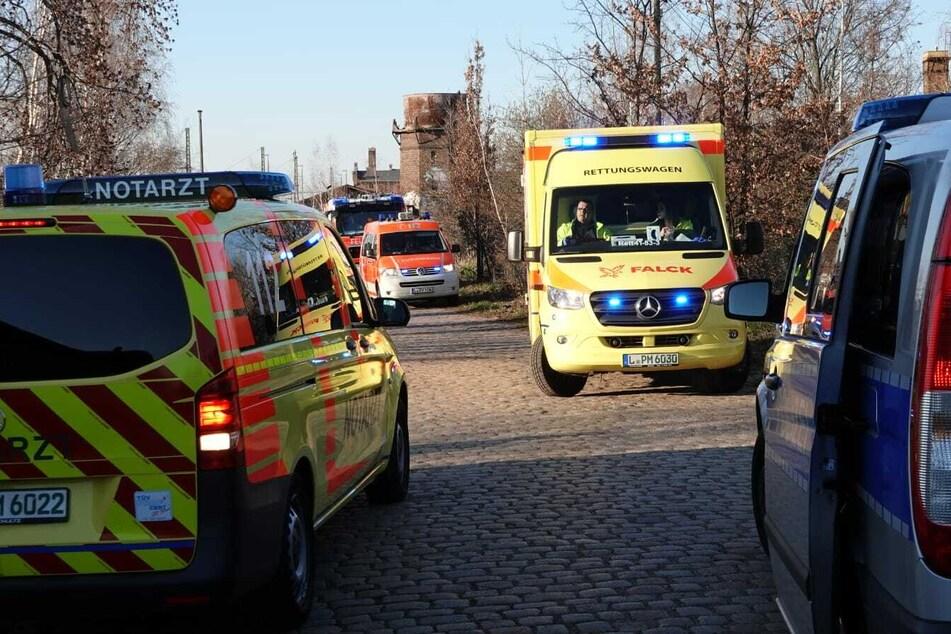 Bei einer Explosion am Plagwitzer Güterbahnhof ist am Mittwochabend eine Sechsjährige verletzt worden.