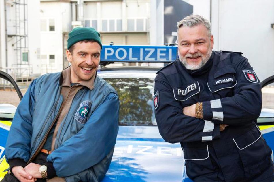 Dienstantritt für Enrique Fiß (li.) und Torsten Münchow.