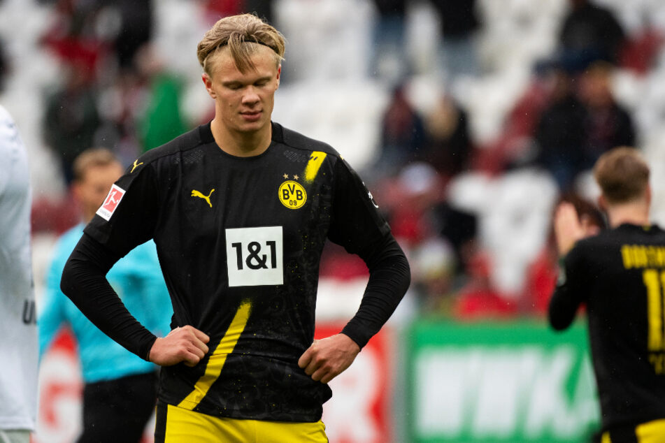 Erling Haaland (20) blieb gegen den FC Augsburg wirkungslos. Das soll und muss sich gegen den FC Bayern München ändern, wenn der BVB eine Chance haben will.