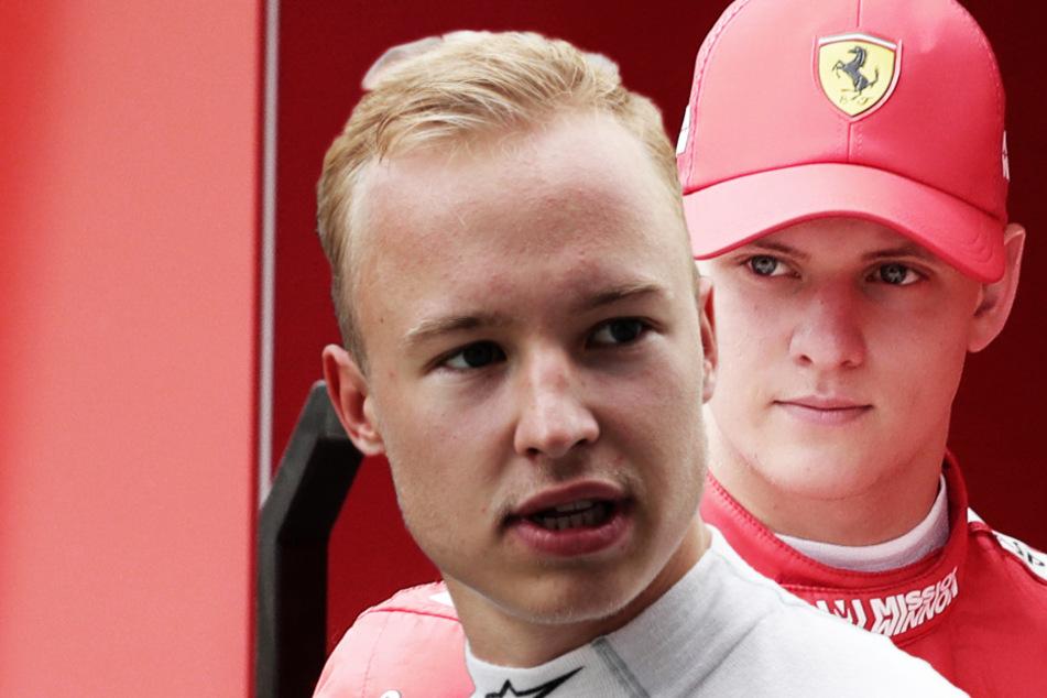 """Schumachers Teamkollege ätzt gegen Mick! Skandal-Nudel Mazepin: """"Sein Name ist mir egal"""""""