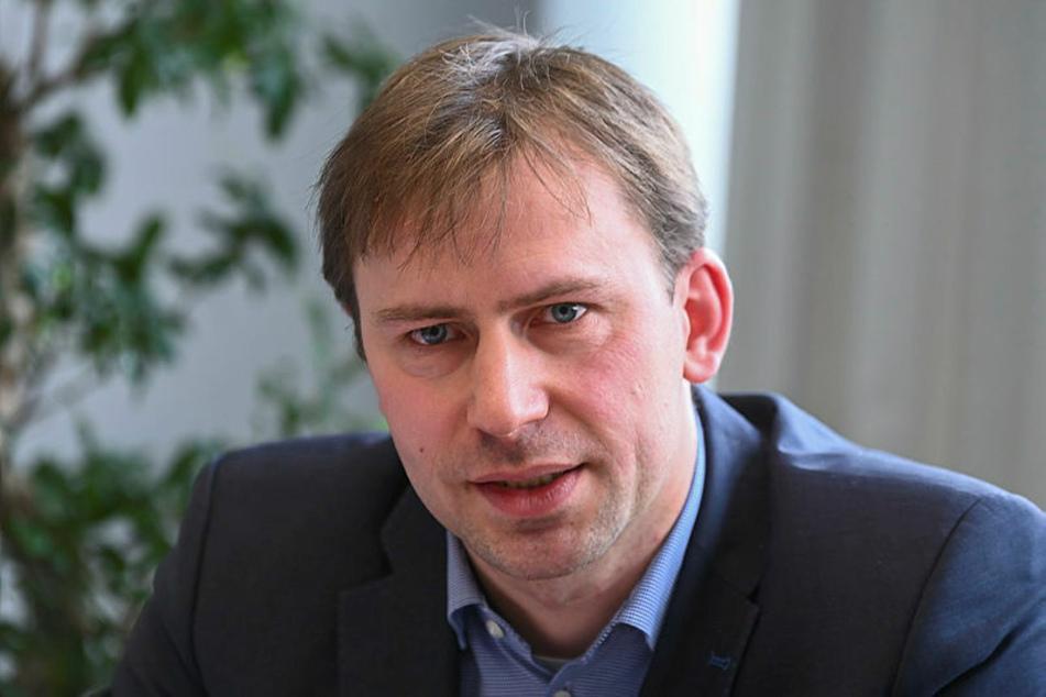 Holger Mann (42) sitzt seit 2009 für die SPD im Landtag.