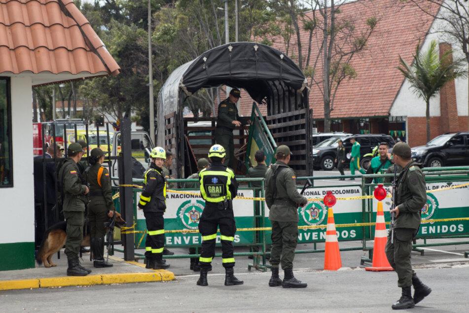 Acht Festnahmen wegen Anschlag auf Polizeischule