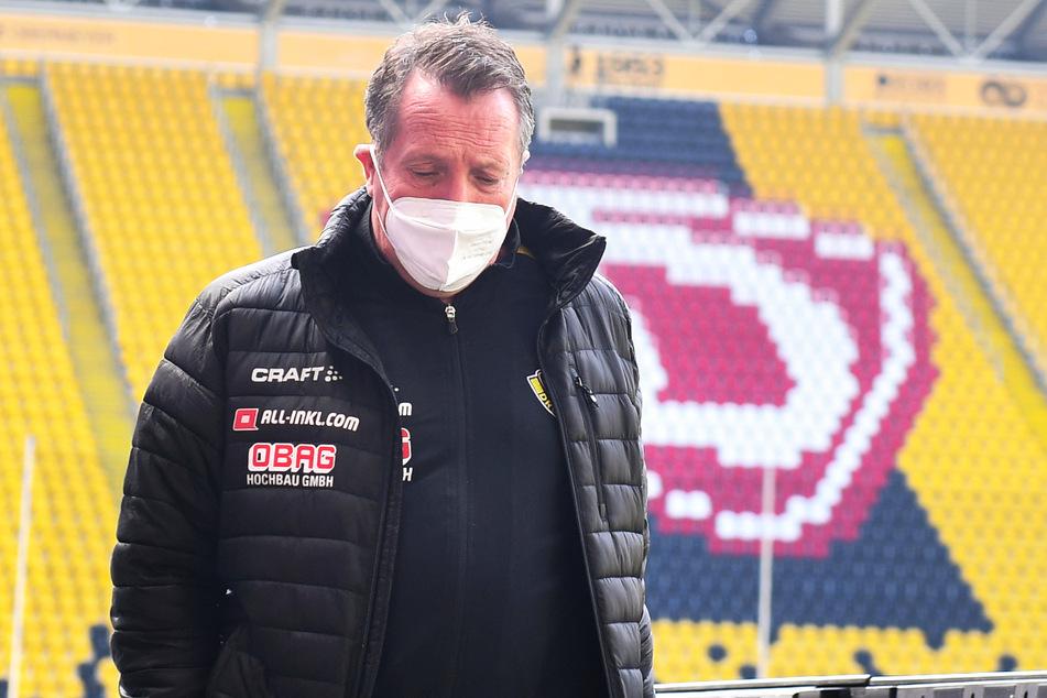 SGD-Coach Markus Kauczinski (51) macht sich Gedanken, wie die Saison sportlich zu Ende gebracht werden kann.