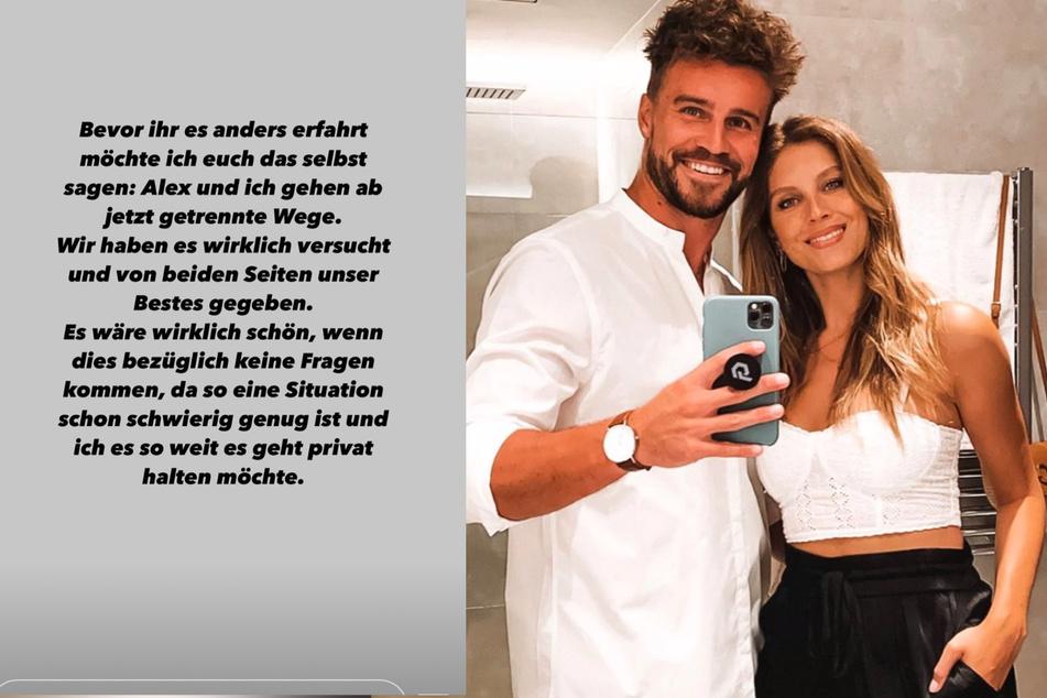 Es ist vorbei: Alexander Hindersmann (32) Wioleta Psiuk (28). (Fotocollage)