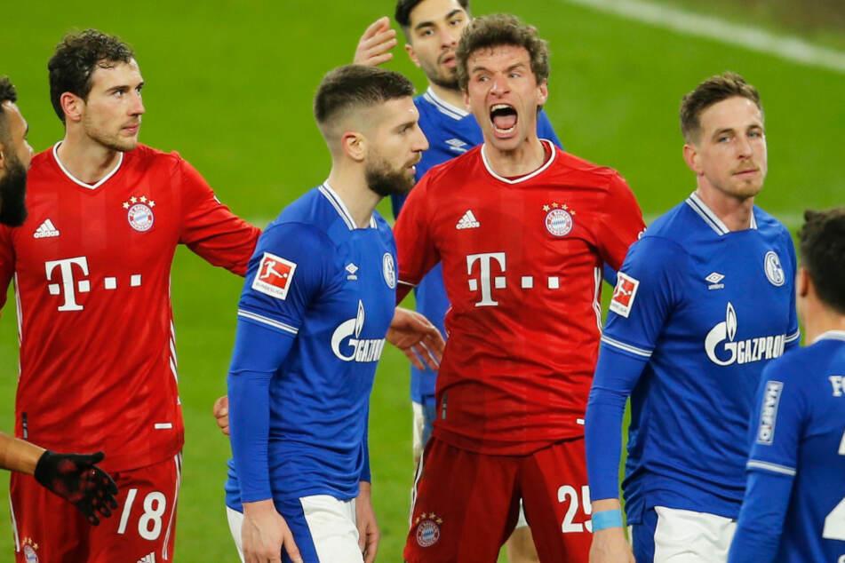 Die Bayern und der Schalke 04 wollen helfen und veranstalten ein Benefizspiel für die Flutopfer. (Archiv)