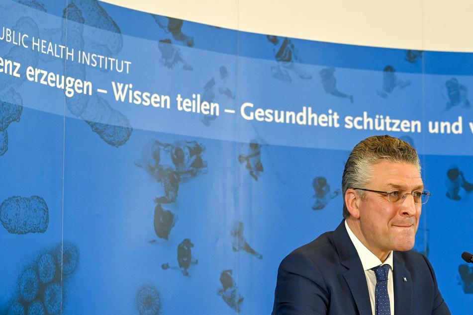 Lothar Wieler (59), Präsident des Robert Koch-Instituts (RKI), gibt eine Pressekonferenz zur aktuellen Entwicklung bei den Corona-Zahlen.