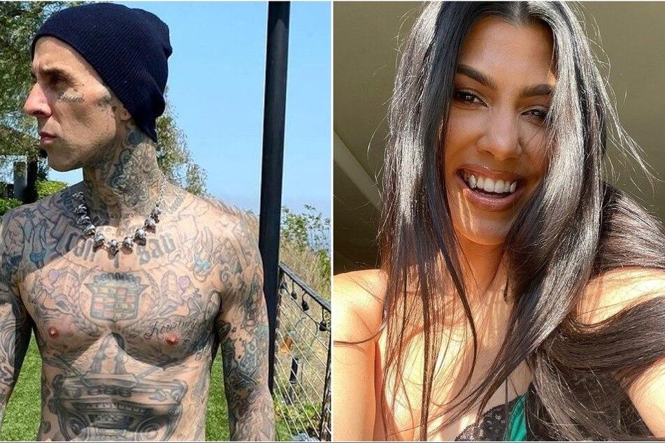 Snip snip! Did Kourtney Kardashian let Travis Barker chop her long locks?