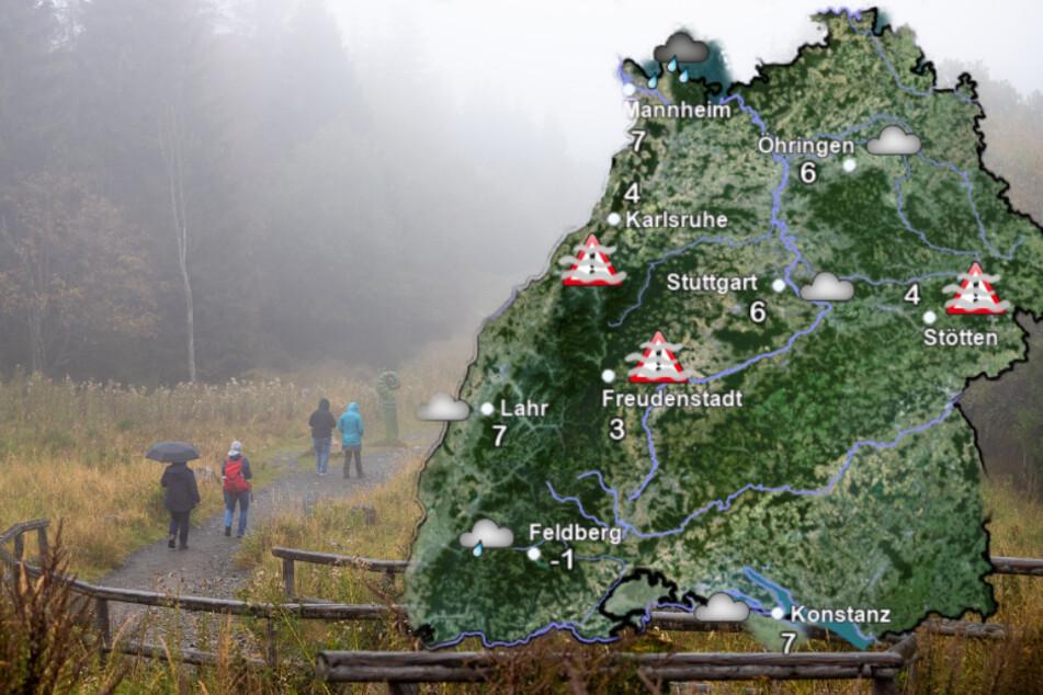 Trübes Wetter am Wochenende in Baden-Württemberg