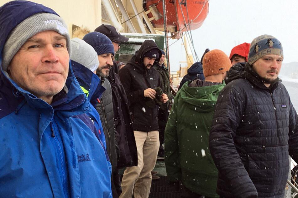 """Nach vier Monaten in der Arktis: """"Polarstern""""-Crew wieder in Deutschland"""