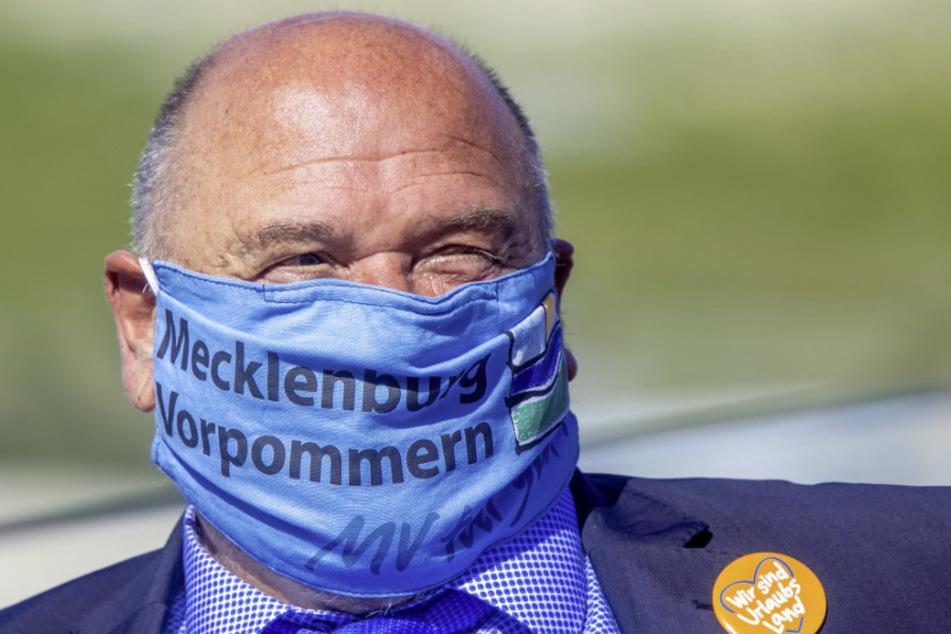 Mecklenburg-Vorpommerns Wirtschaftsminister Harry Glawe (66, CDU). (Archivbild)