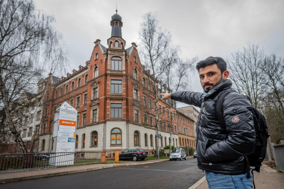 Kakar wohnte bis 2018 in einer Wohnung in der Pornitzstraße. Die Unterkunft hatte das Sozialamt zur Verfügung gestellt.