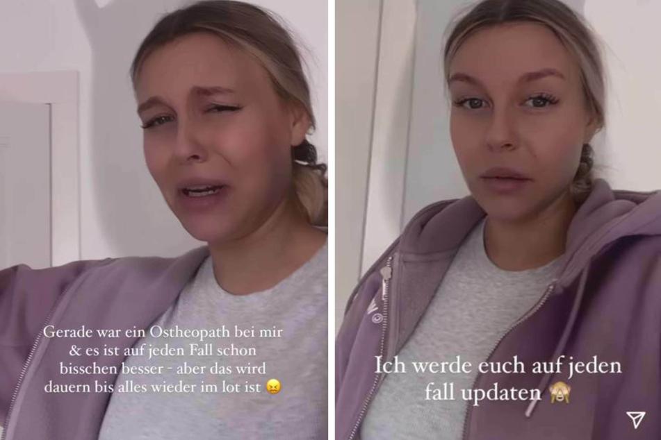 Dagi Bee alias Dagmar Kazakov (26) verriet ihren Followern bei Instagram am Samstag, dass sie aktuell an heftigen Rückenschmerzen leidet.