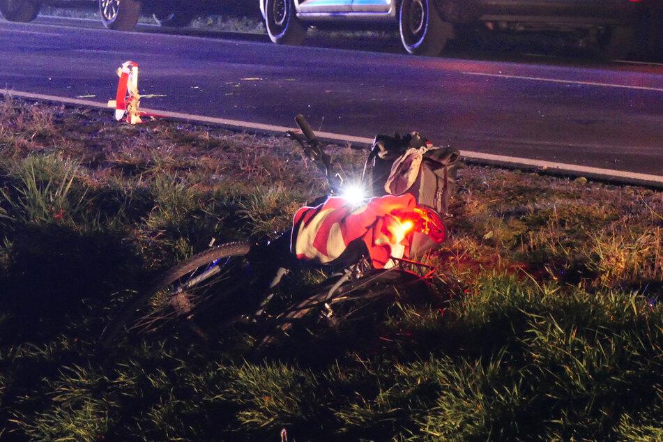 Der Radfahrer erlitt schwere Verletzungen.