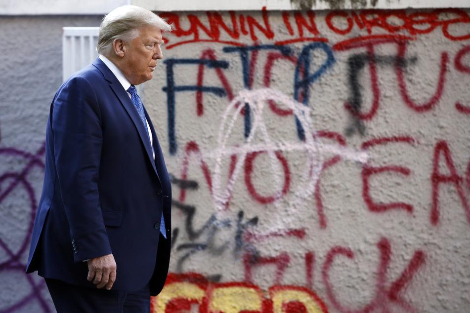 US-Präsident Donald Trump (73).