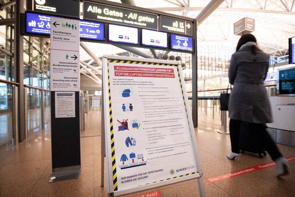 Hamburg: Sieben Fluggäste aus Großbritannien in Hamburg positiv getestet