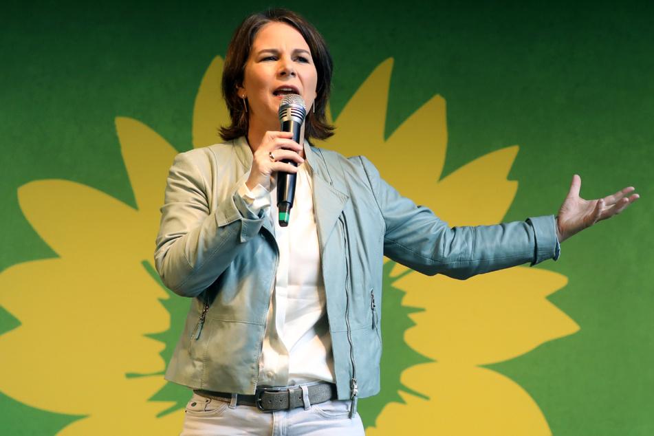 Annalena Baerbock leistete sich einige Patzer im Wahlkampf, ist aber fest entschlossen, Kanzlerin zu werden.