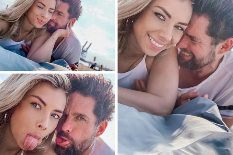 Turtelnd zeigt sich das Paar auf Instagram.
