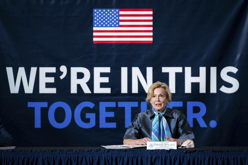 Dr. Deborah Birx faced heavy criticism for breaking the CDC restrictions on gatherings.